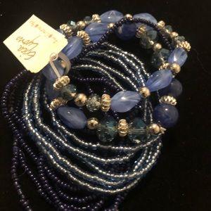Stretchy stackable bracelets
